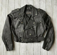 New ListingWilsons Leather Motorcycle Jacket Women's Sz Xs Cropped Biker Jacket ~ Lined