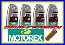 Kit Tagliando KTM SMR 990 10>11 Filtro Olio MOTOREX Cross Power 10W50 2010 2011