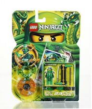 BRAND NEW LEGO NINJAGO LLOYD ZX 9574 GREEN NINJA W/ SPINNER RETIRED AND RARE NIP