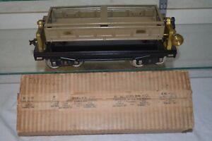 Lionel Prewar Standard Gauge 218 Dump OB EX Hardware Store Box