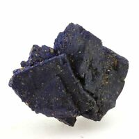 Chessylite ( Azurite ). 90.4 ct. Chessy-les-Mines, France.