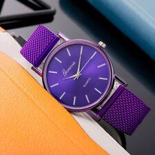 Fashion Women Watch Mesh Band Stainless Stell Quartz Analog Dress Wrist watch