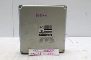 1997 Infiniti QX4 Engine Control Unit ECU MECMW410E2 Module 04 14I3