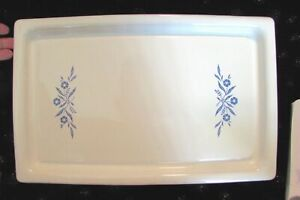 VTG CORNING WARE Electromatic BLUE CORNFLOWER P54 Immersible WARMING TRAY w CORD