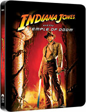 Indiana Jones And The Temple Of Doom Limited Edition Steelbook Blu-ray UK NEW