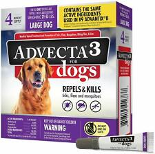 Advecta 3 Flea & Tick Treatment Lg Dog 21-55 Lb 4 Mo sply same as K9 Advantix Ii