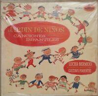 LUCHA BERMEJO Y CONJUNTO DE GUSTAVO PIMENTEL -JARDIN DE NIÑOS- SEALED MEXICAN LP