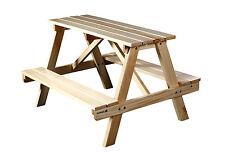 Sixbros. table de Pique-nique pour enfant Ensemble en bois Pts-1861/1158