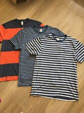 Lot Of 3 J. Crew Men's T-Shirts Size Medium Slim Gently Used Cotton
