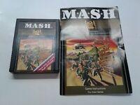 MASH 20th Century Fox (Atari 2600, 1983) Cartridge And Manual