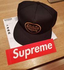 Supreme 5 Panel Border Patrol Cap Hat Black
