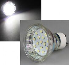LED GU10 Strahler Lampe Birne Spot Leuchtmittel Weiß kaltweiß hellweiß 0,8W 230V