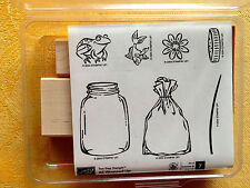 ALL WRAPPED UP  by Stampin Up 2004  NEW! UM  Rubber Stamp