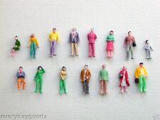 5000 x Train Model 1:100 Scale Painted Figure People HO