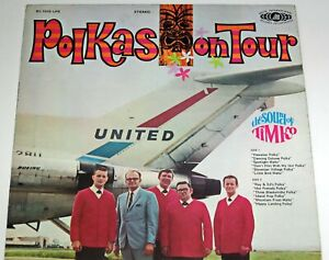 "BOB TIMKO SLOVENIAN POLKA LP RECORD ""POLKAS ON TOUR"" SUPER CLEVELAND STYLE BAND"