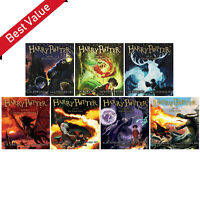 Harry Potter Audiobooks full set 1-7 Read By Steven Fry Latest version 103 CD's