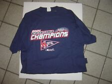 """NEW MENS  NAVY """"BOSTON RED SOX"""" 04 WORLD SERIES TSHIRT BY LEE SIZE XL"""