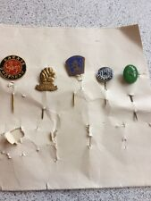 Vintage Karate And Other Pin Badges Mixed Lot