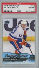2016 Upper Deck Young Guns #458 Mathew Barzal RC Gem Mint PSA 10
