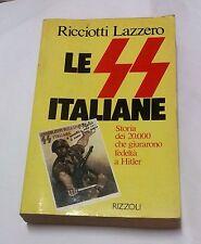 los SS italiano por contactar Lazzero - Rizzoli, 1982; 2. ed