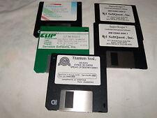 """Lot of Demo disks on 3.5"""" floppy disks - Spear of Destiny, CLIP Demo Version etc"""