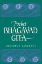 Pocket Bhagavad Gita, Sargeant, Winthrop, Good Book