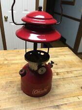 Vintage 1967 Red Coleman Lantern 200A Single Mantle Sunshine