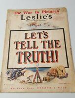 Leslie's Magazine June 22 1918 Illustrations Weekly News Advertisements 1438