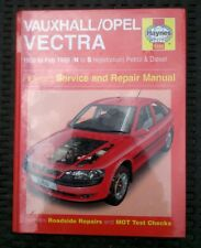 Vauxhall opel vectra New Haynes workshop manual 1995-1999 petrol & turbo diesel