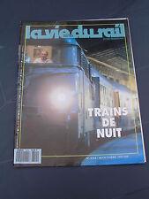 Vie du rail 1991 2314 TRANS EUROP NIGHT TEN CIWL PANZERZUG batignolles PENLY