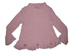 Klara Klamotti toller Strick Pullover Gr. 116 rosa !!