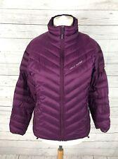 Para Mujer Helly Hansen montaña abajo 700 + Puffa Chaqueta-Grande UK12/14 - Púrpura