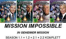 Mission Impossible - In geheimer Mission - Season 1 + 2 KOMPLETT DVD NEU + OVP
