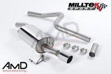 Fiesta ST150 Milltek Cat Back Exhaust System Non Resonated Stainless Steel