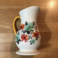 The Pioneer Woman Large Pitcher 2 Quart Embossed