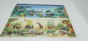 USA~THE WORLD OF DINOSAURS~FULL SHEET STAMPS~32 CENT~MNH