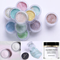 BORN PRETTY 10g White Clear Acrylic Powder Liquid for Nail Art False Tips Tool