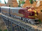 HO Scale Precision Craft EMD F3A F3B DCC w/ Sound Diesel Locomotive Santa Fe WOW