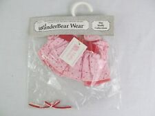 """VanderBear Wear Pink Dress Muffy Collection Bear 7"""" Clothing New NABCO"""