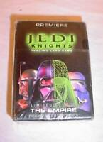 2001 STAR WARS JEDI KNIGHTS TRADING CARD GAME LIMITED ED THE EMPIRE STARTER DECK
