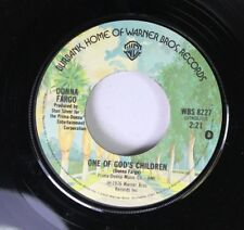 Country 45 Donna Fargo - One Of God'S Children / I'Ve Loved You All Of The Way O