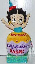 Betty Boop Birthday Bash Cupcake plush FEBRUARY Sugar Loaf NWT