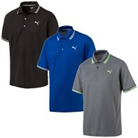 Puma Golf Men's Essential Pounce Pique Polo Shirts - NEW! 2019