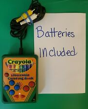 Crayola Electronic Coloring Book Plug & Play Video Game & (all functions tested)
