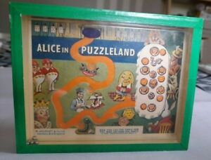 Alice in Puzzleland R Journet & Co ball bearing puzzle game Green Wonderland