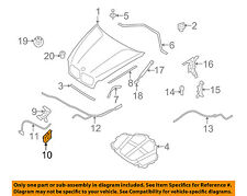 BMW OEM 07-13 X5 Hood-Lock Latch 51237178753