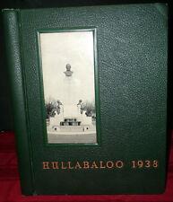 The Johns Hopkins HULLABALOO 1938 Year Book.