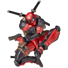 Revoltech Series No.001 Deadpool Pvc Action Figure Toy Collection Doll Model