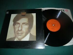 LEONARD COHEN LP - THE SONGS OF LEONARD COHEN