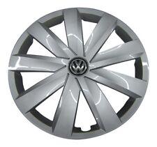 4x original VW Tapacubos rueda parabrisas 16 pulgadas VW SEAT SKODA #11-22